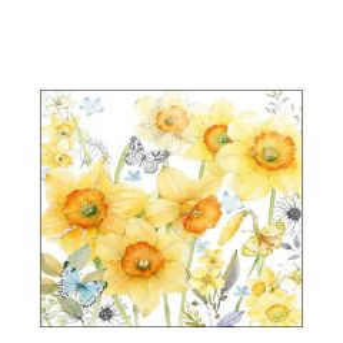 Napkin 25 Classic Daffodils FSC Mix